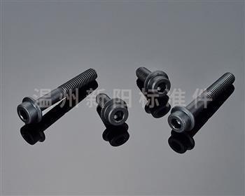 内六角法兰螺栓是一种最常用的紧固件