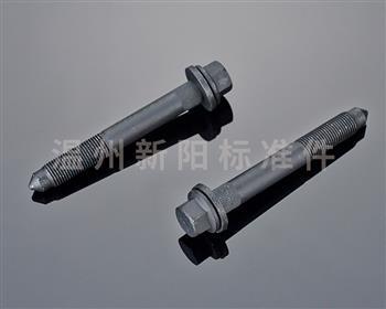 -非标螺栓 -10.9级 -发黑磷化 非标磷化法兰螺栓