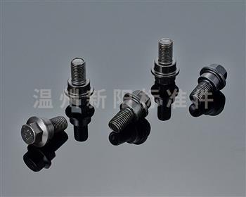 -外六角法兰螺栓-非标螺栓 -黑色达克罗 -8.8级 -10.9级  法兰台阶螺栓