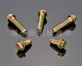 -英制法兰螺栓 -彩锌 -8.8级