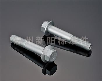 -Q184 -Q185 -GB16674 -外六角法兰螺栓 -银色达克罗-8.8级 -10.9级