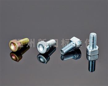 -非标螺栓-彩锌-蓝白锌 8.8级  非标内六角螺栓