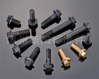 -Q181-Q180-10.9级- 彩锌 花齿法兰螺栓