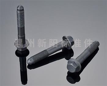 -非标螺栓 -10.9级 -黑色达克罗  二组合非标法兰螺栓